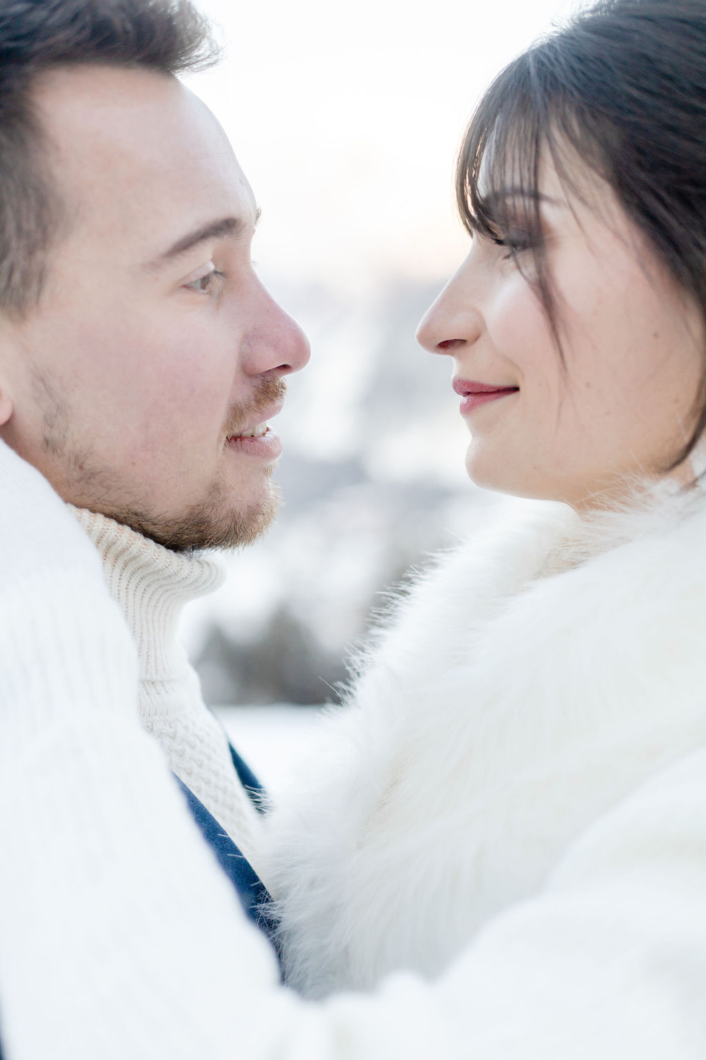 mariage hivernal maquillage